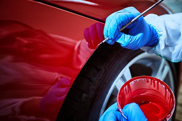 car paint fix at Vancouver automobile paint shop